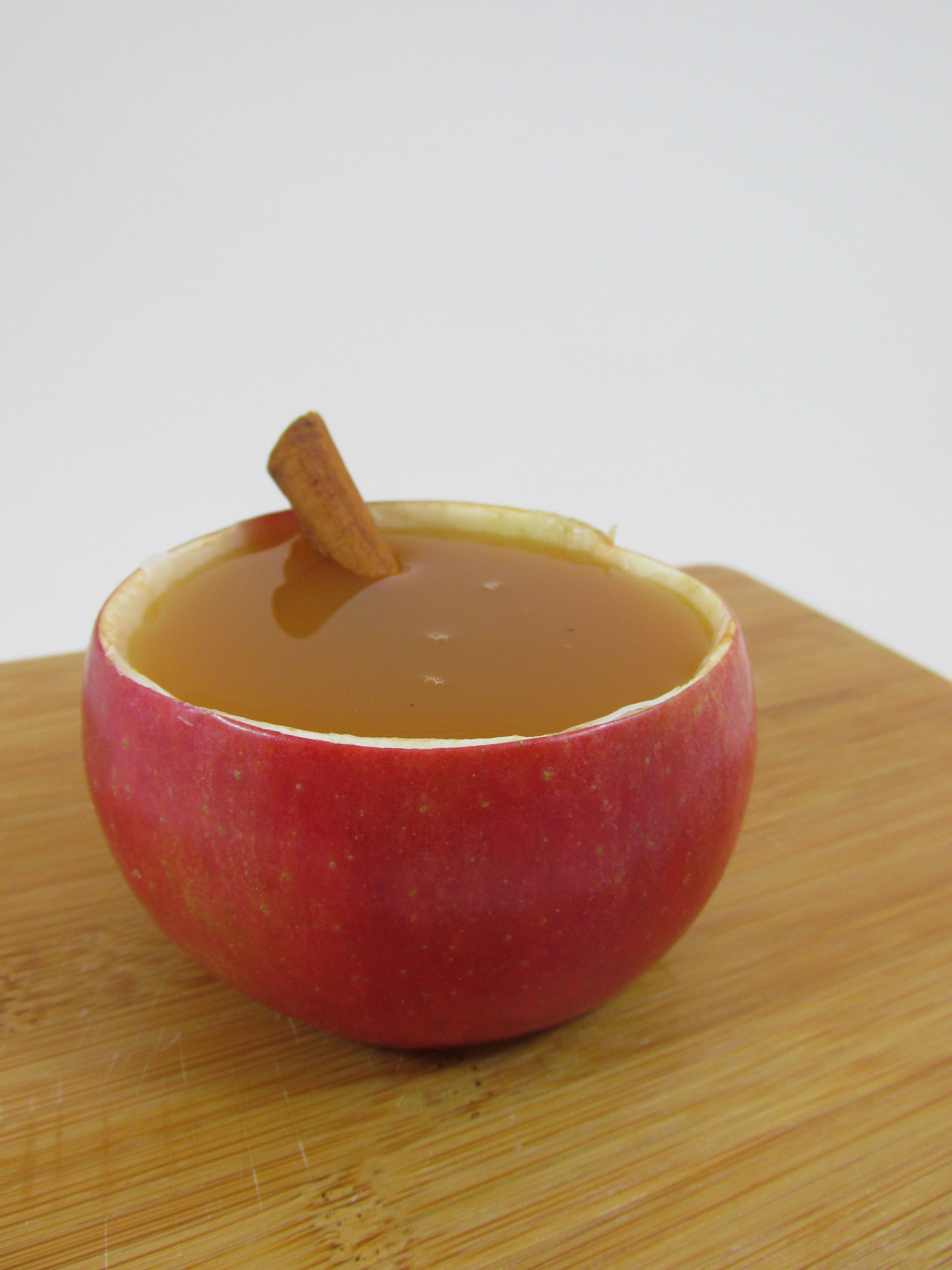Picture of Apple Pie Cocktail + Cool Apple Serving Cup