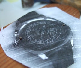 DIY Watch Case Opener