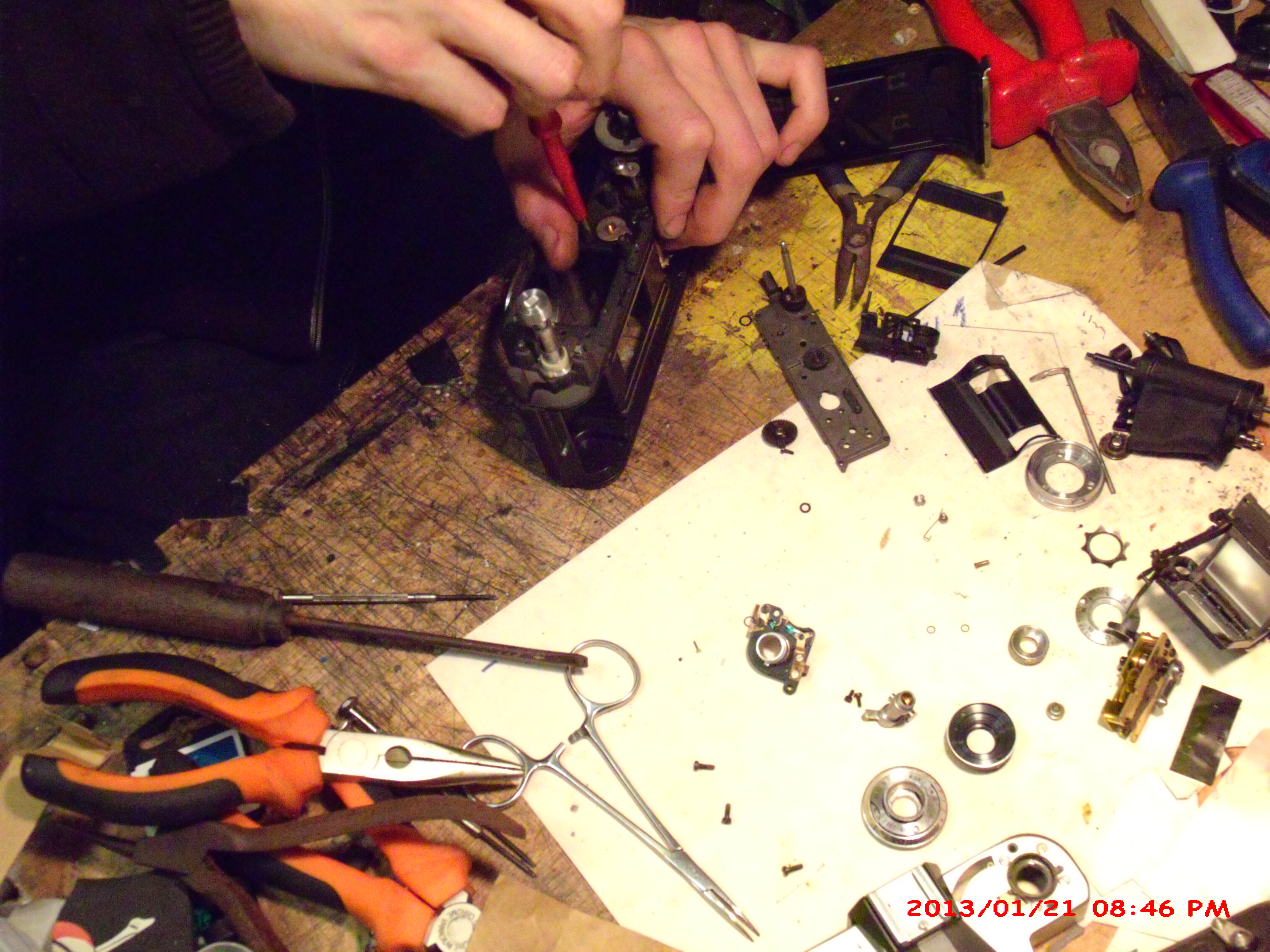 Picture of Time Lapse Teardown