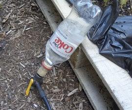 Water bottle rockets!