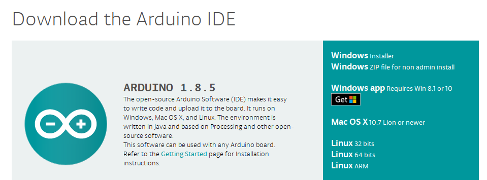 Picture of Download the Arduino Software
