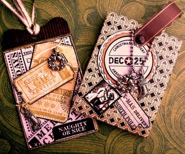 Naughty or Nice? : Gift Tag and Gift Card Holder