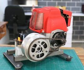 DIY微型汽油发电机