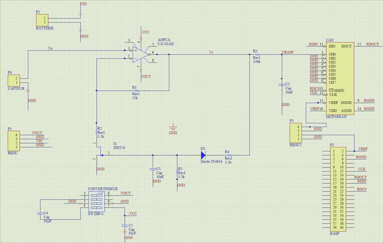 Picture of Electronic Diagram