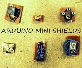 Arduino Mini Shields Construction