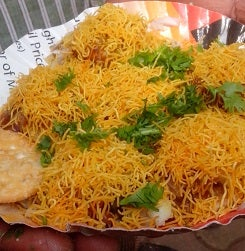 Sev Puri (Indian Snack)