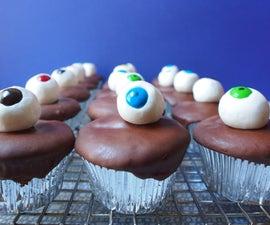 Halloween Eyeball (doughnut) Cupcakes