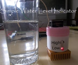 How to make Simple water level Indicator