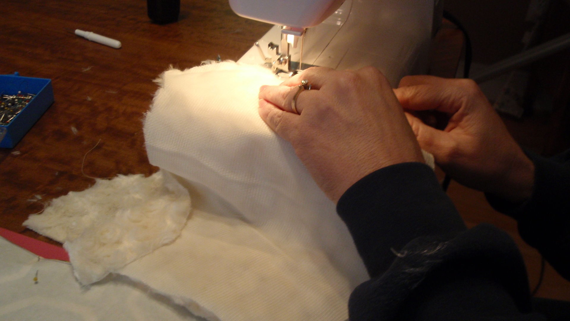 Picture of Sewing the Hood