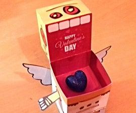 Valentines Heart Badge