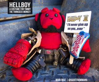 Hellboy Comic Con Constume(对于Timmy ThingGeek Monkey)