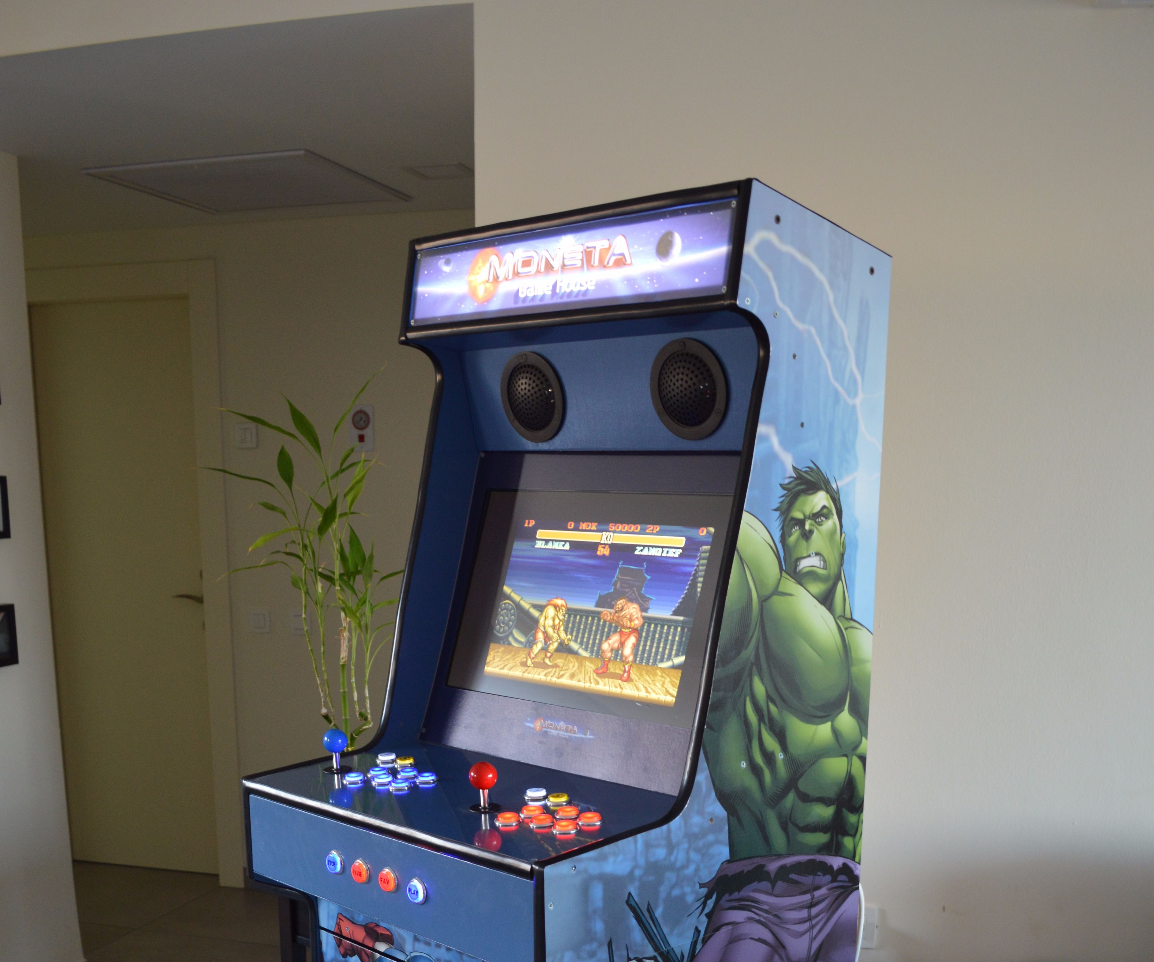 Arcade Machine Avengers Design 9 Steps With Pictures