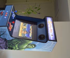 Arcade Machine - Avengers Design