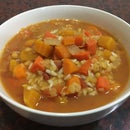 Slow Cooker Carrot and Pumpkin Soup