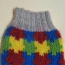 Puzzle Pieces Knit Socks