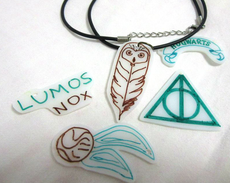 Picture of Shrinky Dink Jewelry