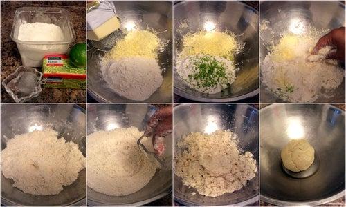 Make the Pie Crust Dough