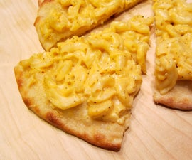 Woldini's Famous Mac n' Cheese Pizza
