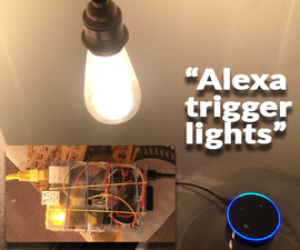 Alexa Controlled Smart Lights+More