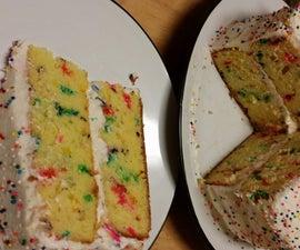 Not-Your-Average Funfetti Cake Hack