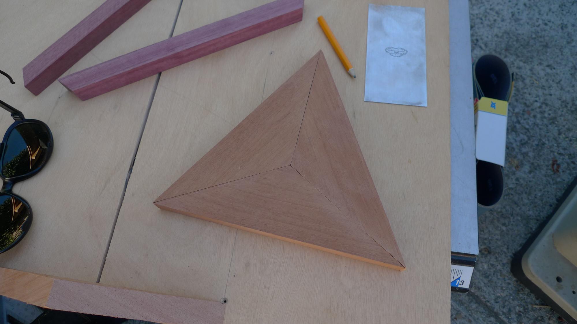 Picture of Mahogany Interior Triangles