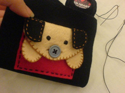 Sewing the Puppy [Cont]