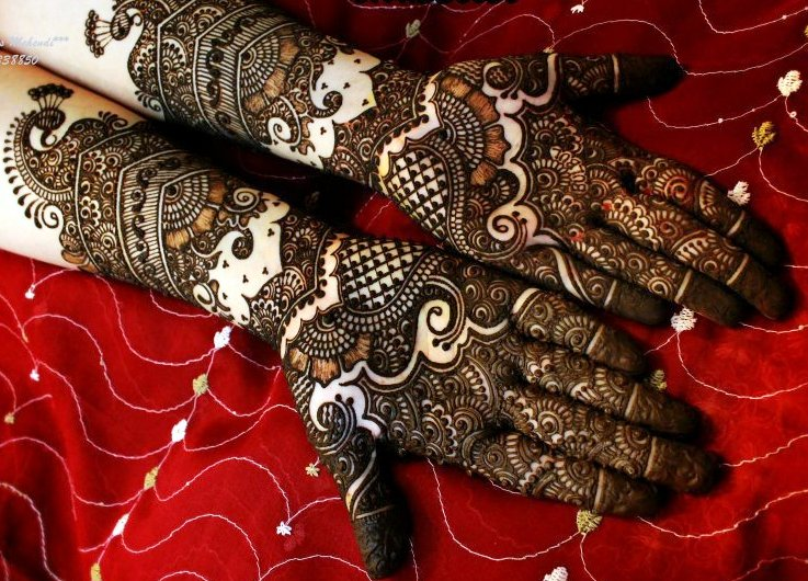 Picture of How to Prepare Mehendi Paste for Magnificent Arabic Mehendi Designs