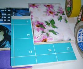 15 minute D.I.Y. 4 different Duct tape mini notebook/mini quote art journal