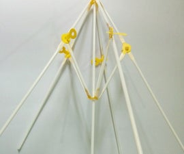 Fancy Umbrella Using Straws