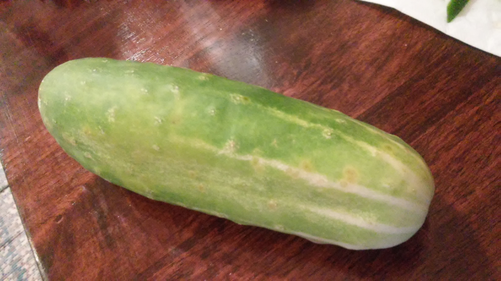 Picture of How to Cut Cucumbers for a Snack
