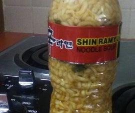 Water Bottle Ramen Noodles