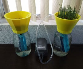 Desktop 3d printed hydroponics