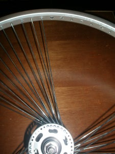 Lacing the Wheel 3 ( Determine How the Hub Twists )