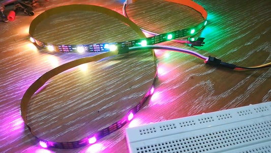 Powering WS2812 RGB LED Strip