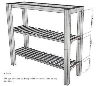 Attaching Shelves