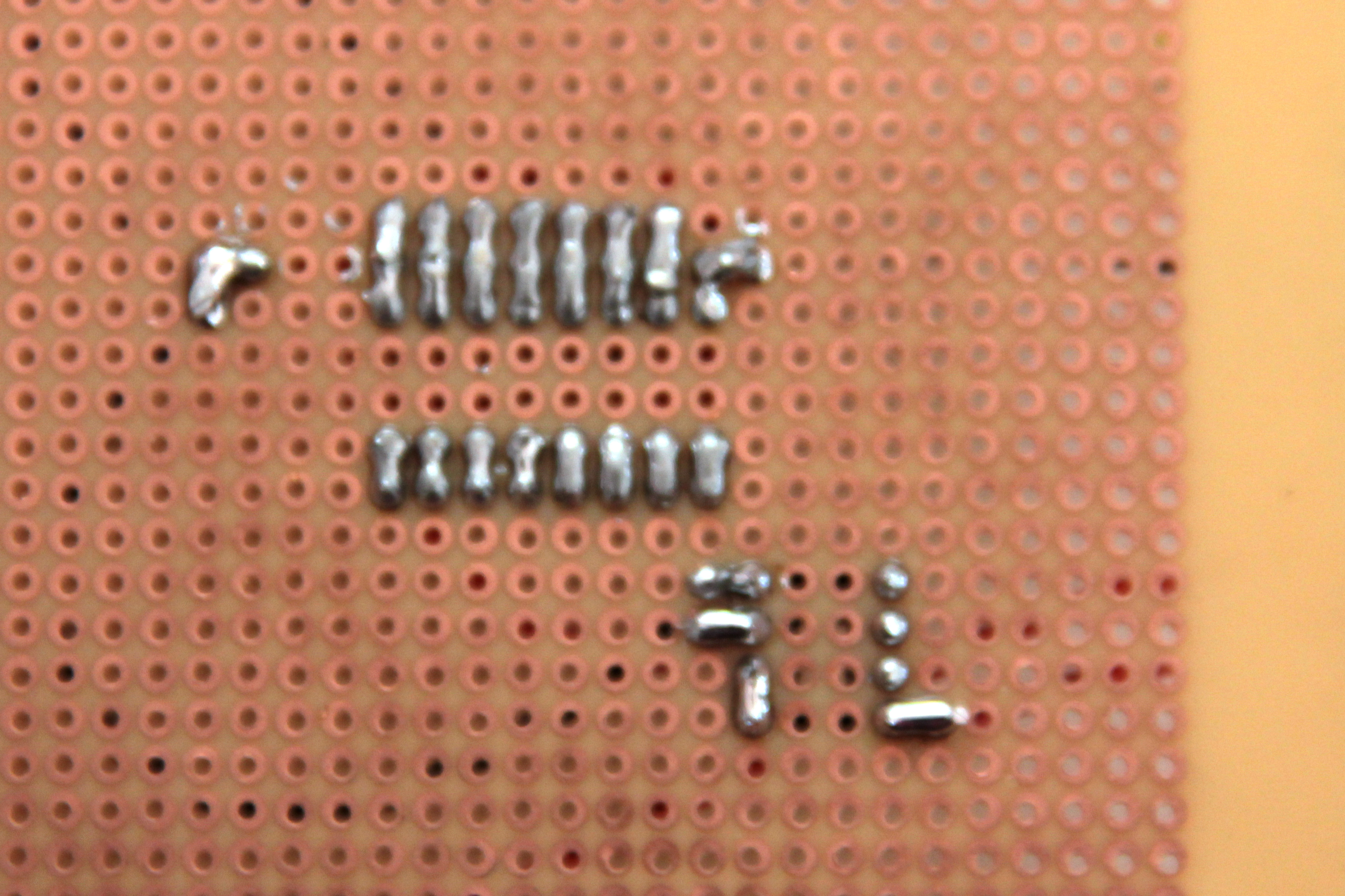 Picture of 8 Pin Socket and Buffer