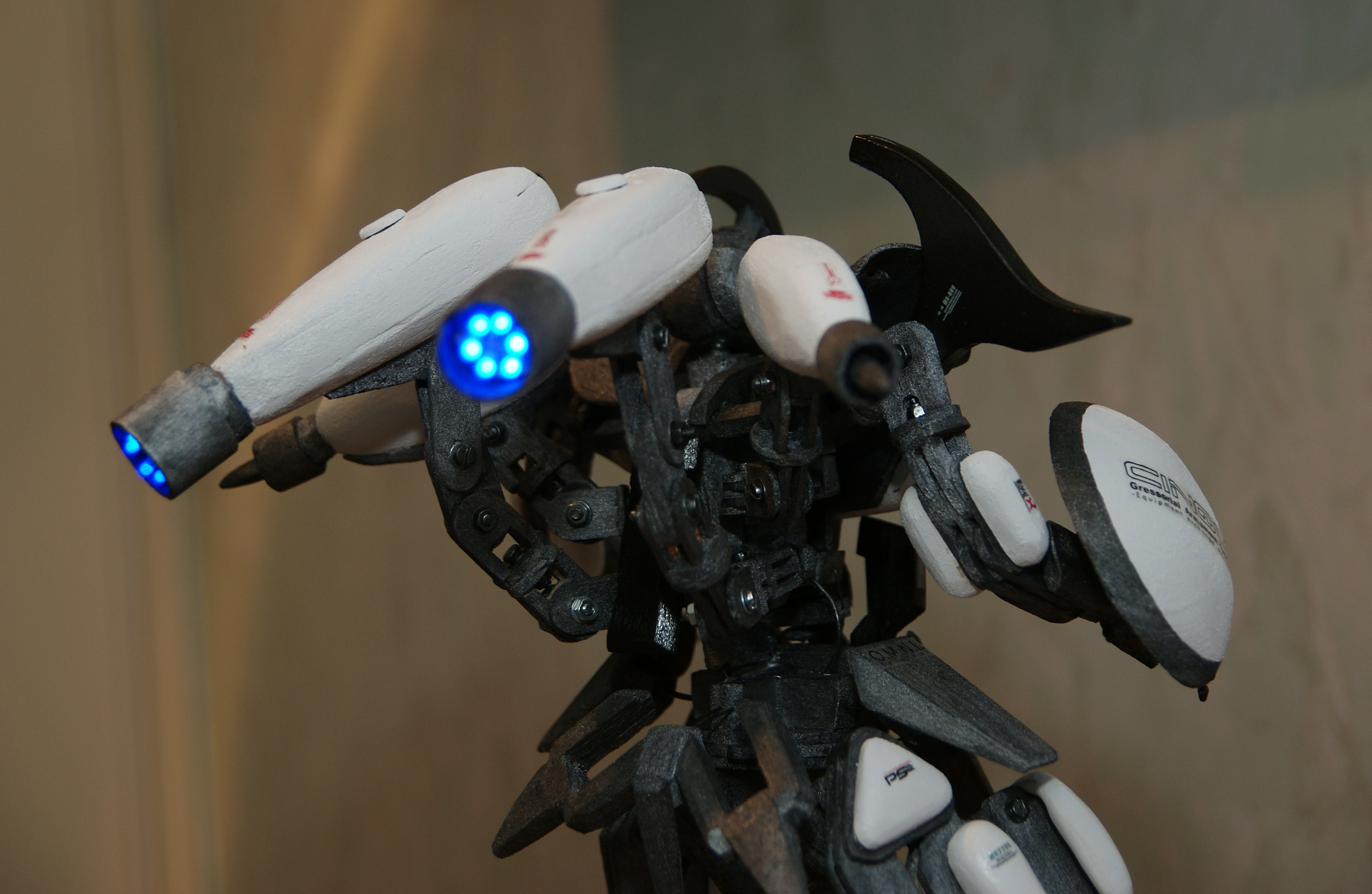 Picture of LED Space Robot!
