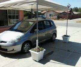 Easy driveway car shield
