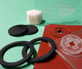 Easy Rubber Machining With a Needle