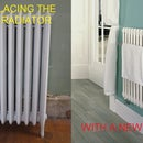 Replacing Central Heating Linked Towel Radiator by Yourself