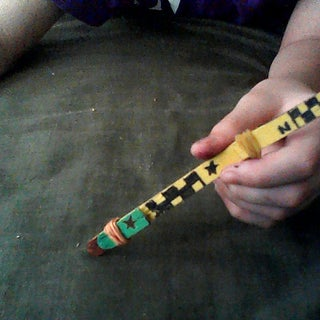 Popsicle Stick Switchblade