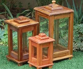 DIY Wooden Lantern