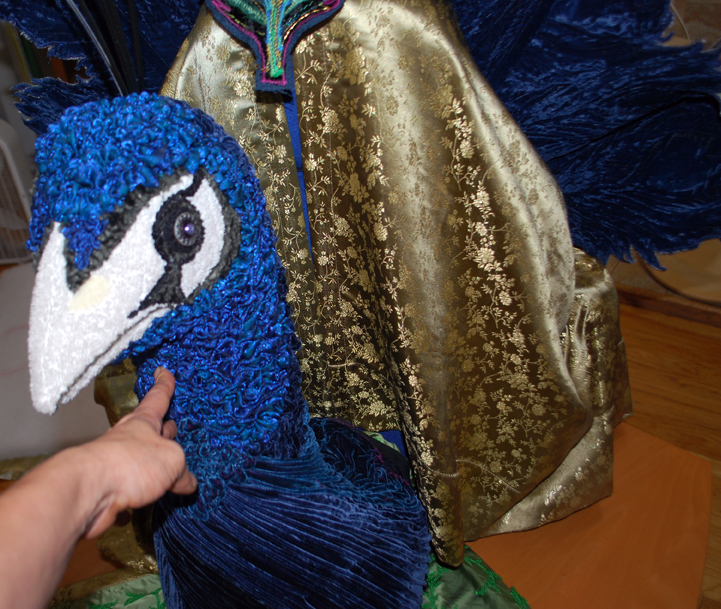 Picture of Dry-fitting Peacock Parts