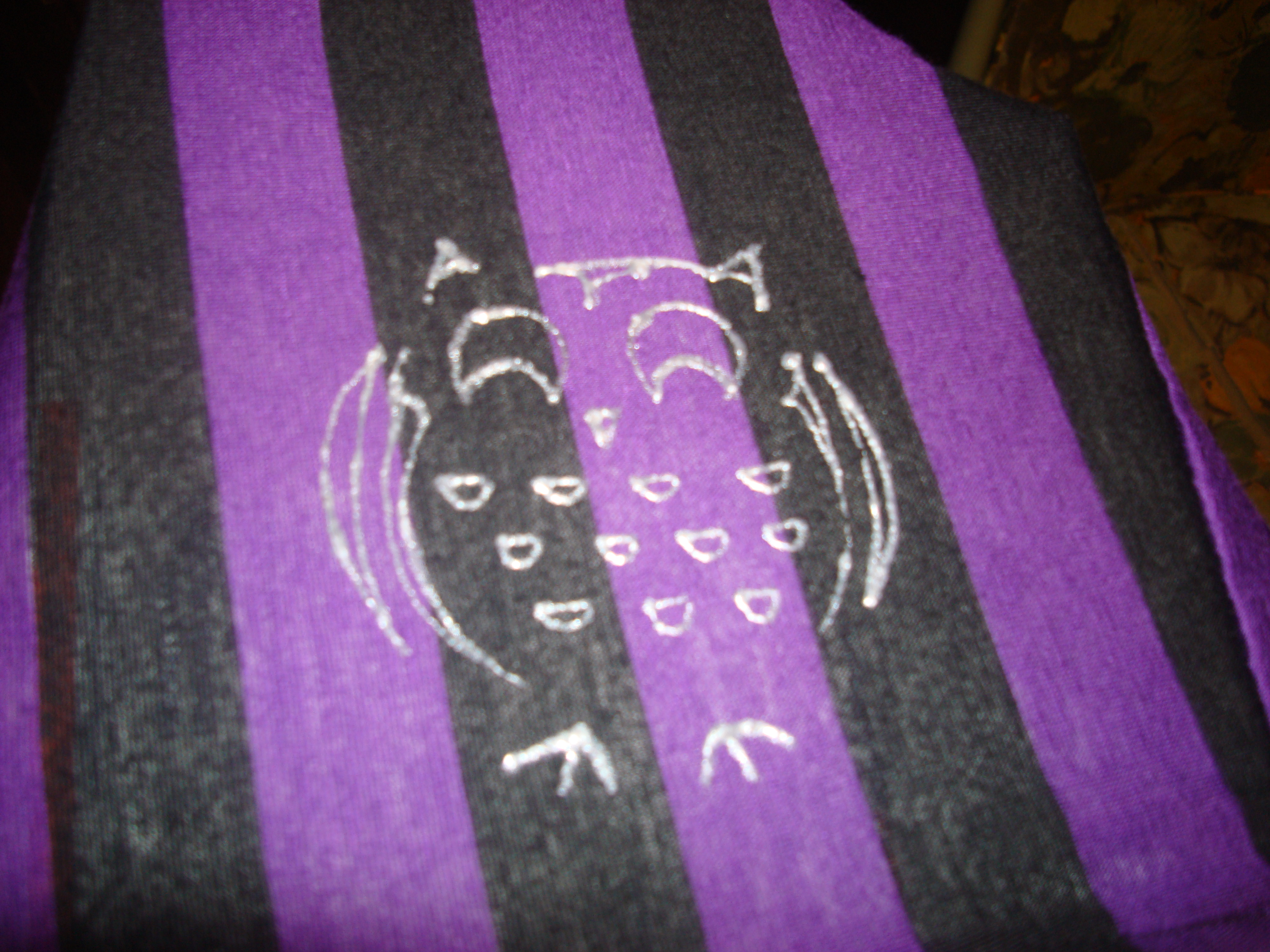 Picture of Revamp a T Shirt With Puff Paint