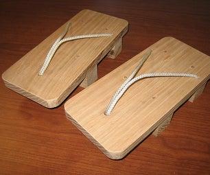 Make Your Own Geta Sandles