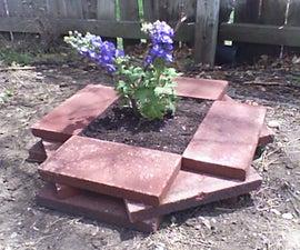 Easy Brick Planter Box
