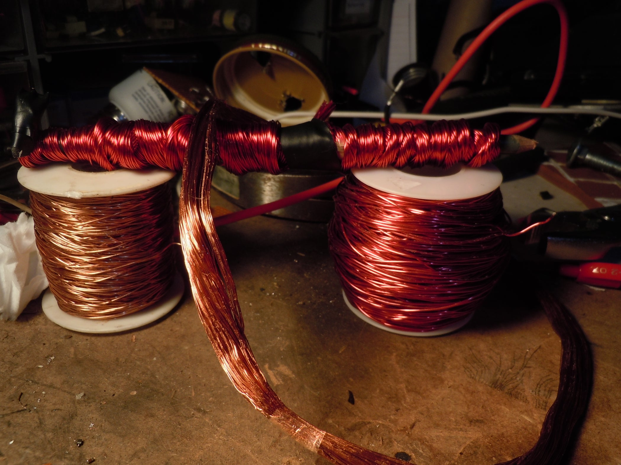 How to Get Tons of Free Enameled Copper Wire: 4 Steps