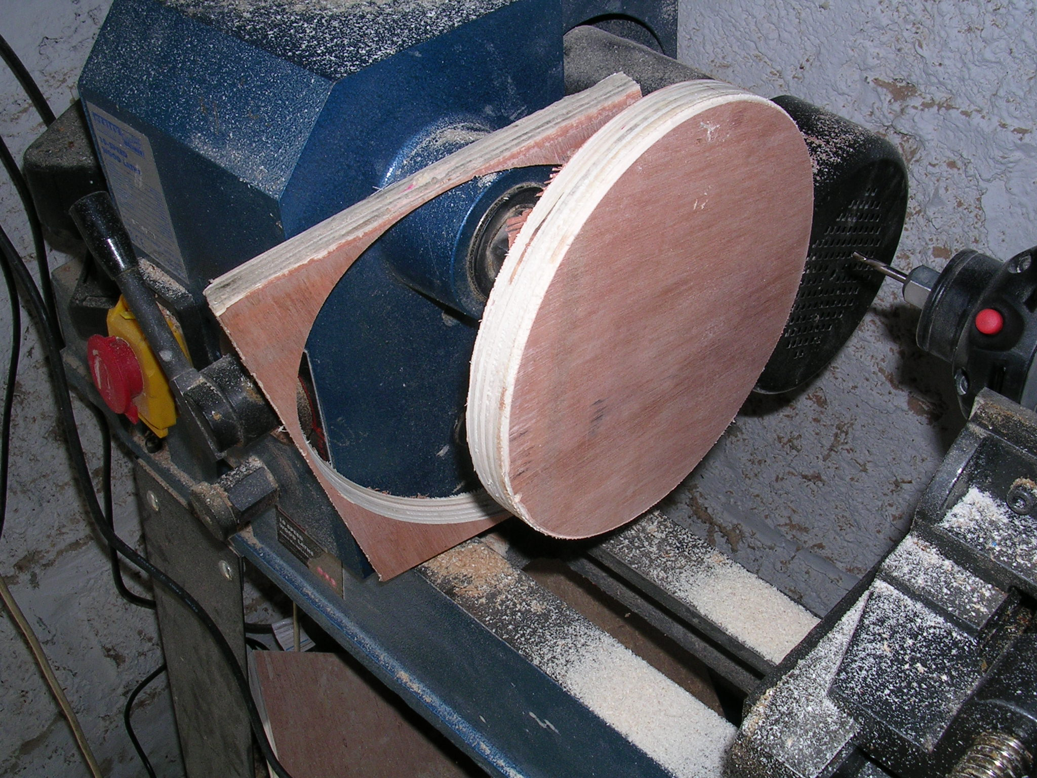 Picture of Useing the Milling Atachment
