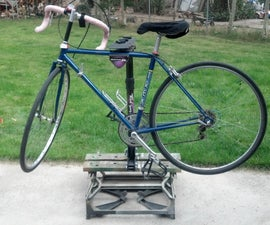 Quck and Easy Bicycle Repair Stand