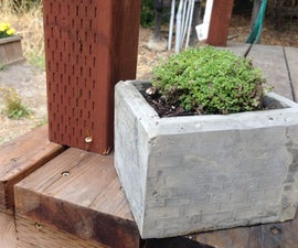 Concrete Pot for Plants